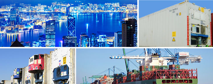 New service LCL Reefer solutions from Fos-sur-Mer to Hong-Kong